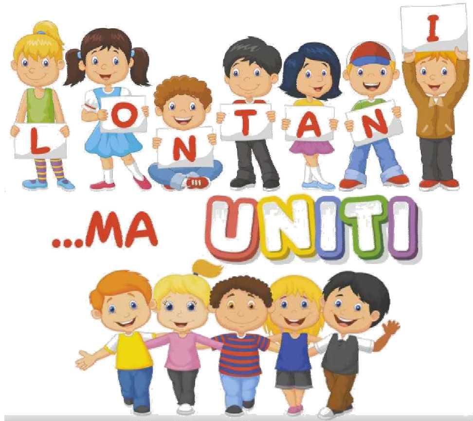 Lontani... ma uniti (classi 3^A-3^B)
